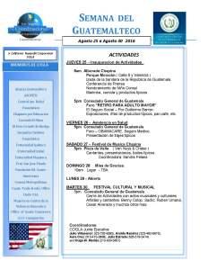 Semana  Del Guatemalteco agosto2016 final